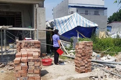 Thi thể nam giới bốc mùi trong lán bỏ hoang ở Thái Nguyên
