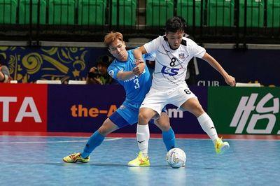 Thái Sơn Nam thất bại ở bán kết giải Futsal châu Á
