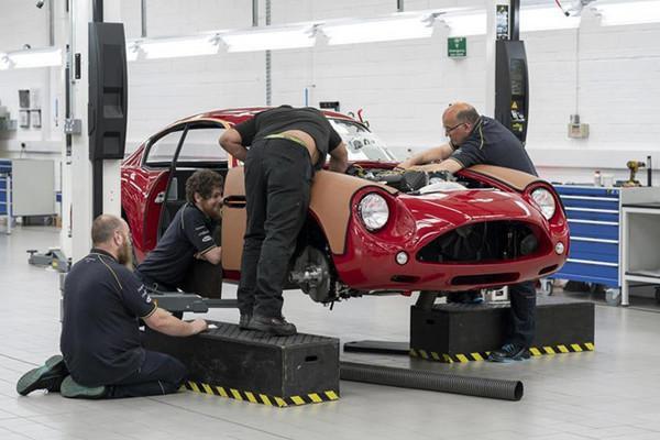 Siêu xe đắt nhất lịch sử Aston Martin bắt đầu được sản xuất