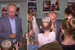 'Tan chảy' trước hành động lịch lãm của Putin trước cô gái nhỏ