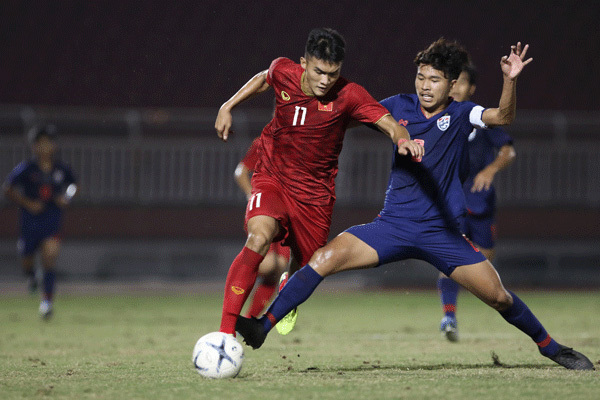 Vietnam tie with rivals Thailand at regional U18 tournament