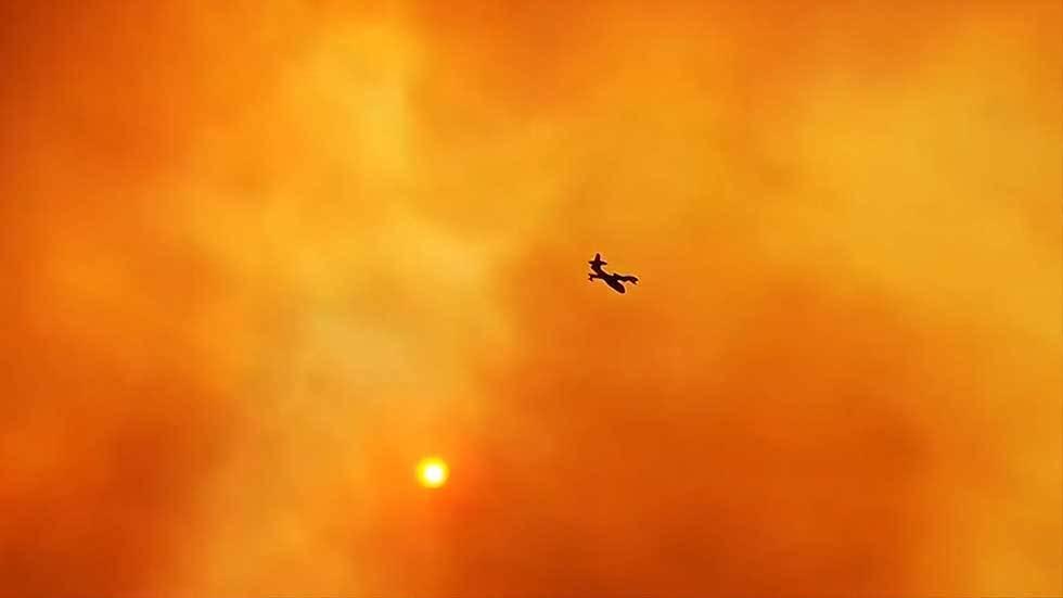 hỏa ngục,cháy rừng,Hy Lạp