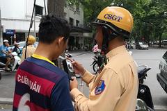 Một tháng Hà Nội xử phạt 230 'ma men'