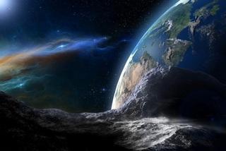 Thiên thạch khổng lồ đang bay vùn vụt về phía Trái Đất