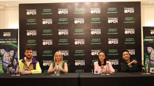 British band to link up with local artists for Tuborg Open 2019