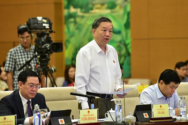 Bộ trưởng Công an,Tô Lâm,tín dụng đen