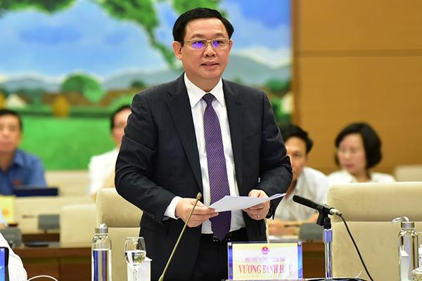 Phó Thủ tướng,Vương Đình Huệ,tham nhũng