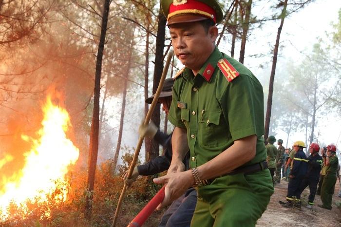 cháy rừng,thừa thiên huế