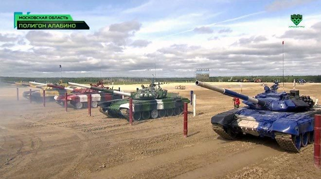 Việt Nam giành hạng nhì chung kết đua xe tăng ở Nga