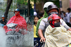 Thời tiết 3 ngày tới, Bắc Bộ mưa lớn, Trung Bộ nắng gay gắt