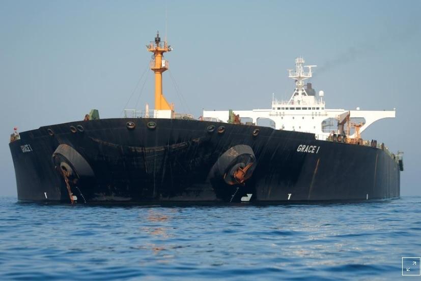 Siêu tàu dầu được thả, giới chức Iran lập tức chế nhạo Mỹ