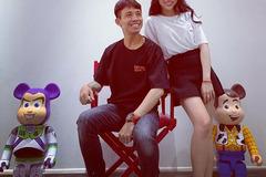 Con gái Minh Nhựa khoe hậu trường chụp ảnh cưới