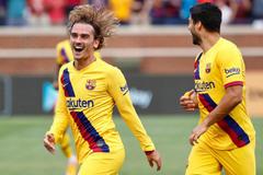 Messi vắng mặt, Barca trông cả vào Griezmann