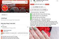 Cảnh giác với chiêu thức bán trang sức bằng vàng trên mạng xã hội
