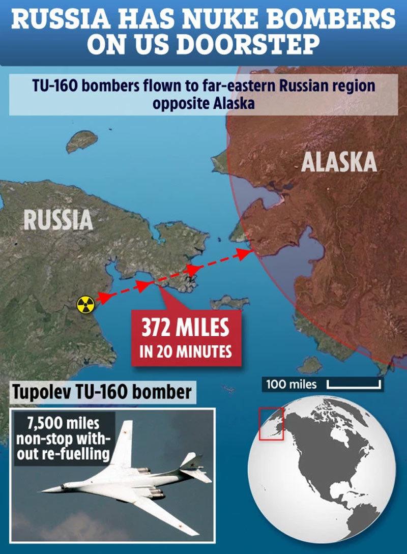 Nga điều 'Thiên nga trắng' có thể mang hạt nhân tới sát Mỹ