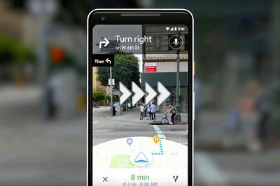 Cách sử dụng tính năng chỉ đường thực tế ảo tăng cường của Google Maps