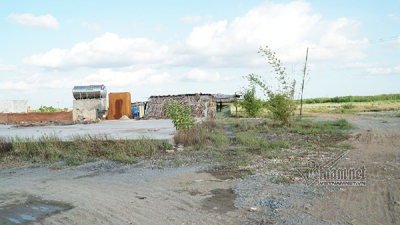 dự án treo,dự án bỏ hoang,khu công nghiệp,cưỡng chế