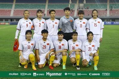 Lịch thi đấu của tuyển nữ Việt Nam ở giải Đông Nam Á 2019