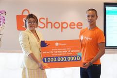 Shopee đồng hành cùng đội tuyển Thể thao điện tử Việt Nam dự SEA Games 2019