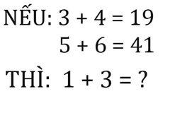Bài toán giả thuyết gây tranh cãi vì có 2 đáp án đều hợp lý