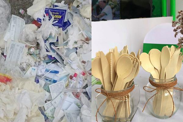 Toàn ngành y ngừng sử dụng nhựa, nilon để bảo vệ môi trường