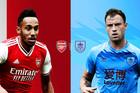 Trực tiếp Arsenal vs Burnley: David Luiz và Lacazette đá chính