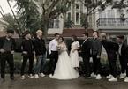 Con gái Minh Nhựa mặc váy cô dâu, tình tứ bên 'chồng sắp cưới'