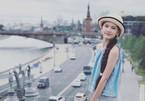 Em gái Lâm Tây sở hữu chiều cao 1m65 và thần thái cuốn hút ở tuổi 12