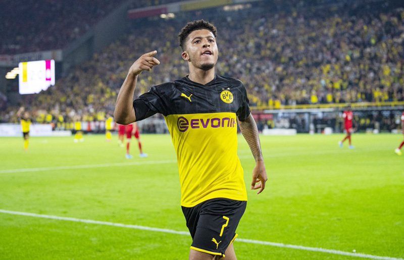 Jadon Sancho,MU,Man City,Dortmund