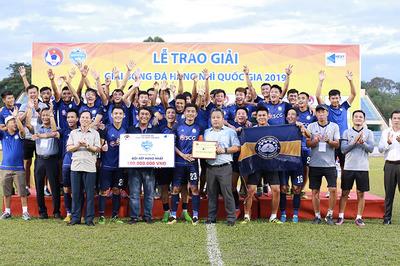 Bà Rịa Vũng Tàu giành vé thăng hạng Nhất 2020