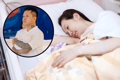 Bà xã Tuấn Hưng bất chấp nguy hiểm để sinh mổ 3 lần trong 5 năm
