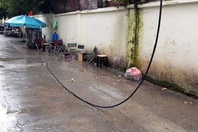 Điện lực TP.HCM thông tin vụ dây điện đứt giật chết người ngồi vỉa hè