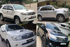 5 chiếc SUV Toyota Fortuner siêu rẻ chỉ từ 200 triệu