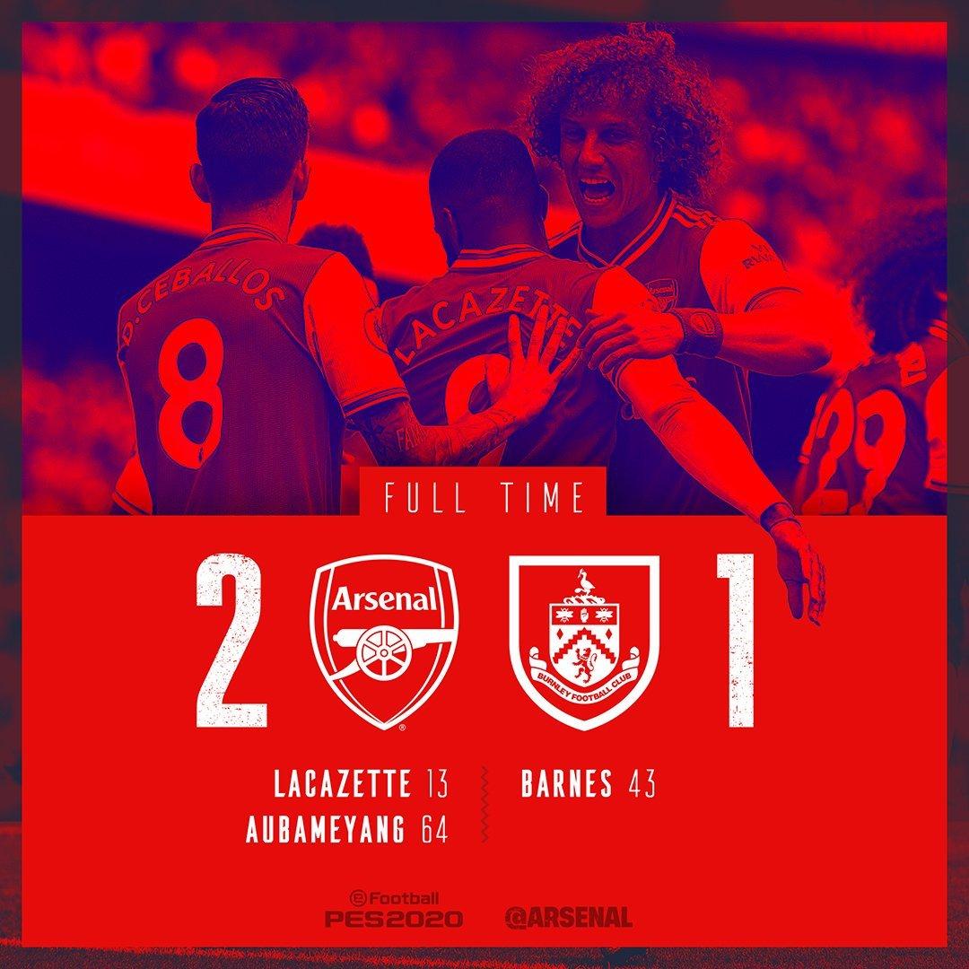 Arsenal,Burnley