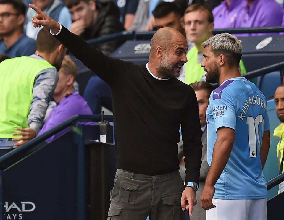 Man City,Sergio Aguero,Pep Guardiola