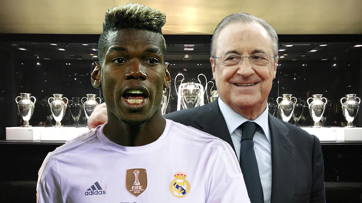 Real Madrid,Paul Pogba,MU,Zinedine Zidane