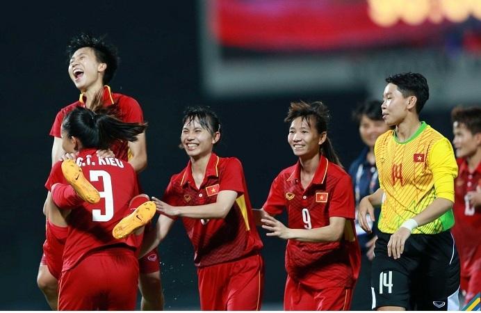 Tuyển nữ Việt Nam 5-0 Indonesia: Bàn thắng liên tiếp (H2)
