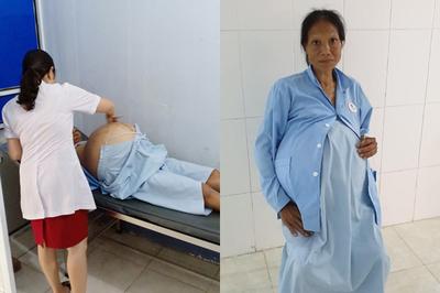 Người phụ nữ Sơn La ngủ nghiêng, cõng 'bụng bầu' suốt 14 năm