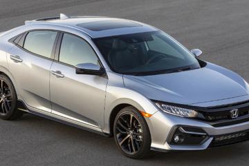 Honda Civic Hatchback 2020 chính thức ra mắt