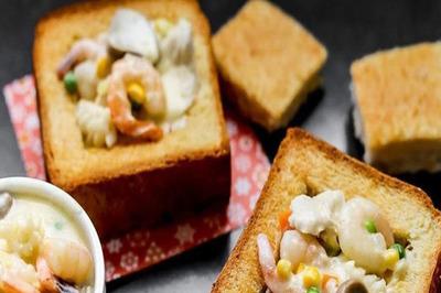 Có gì trong món bánh mì 'quan tài' nghe tên đã thấy sợ của Đài Loan