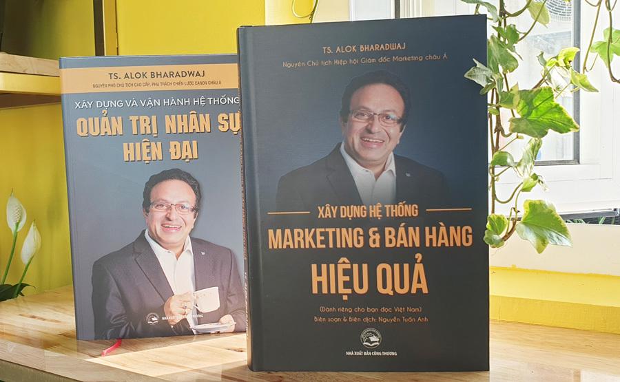 Sách của bậc thầy về marketing và nhân sự có mặt tại Việt Nam