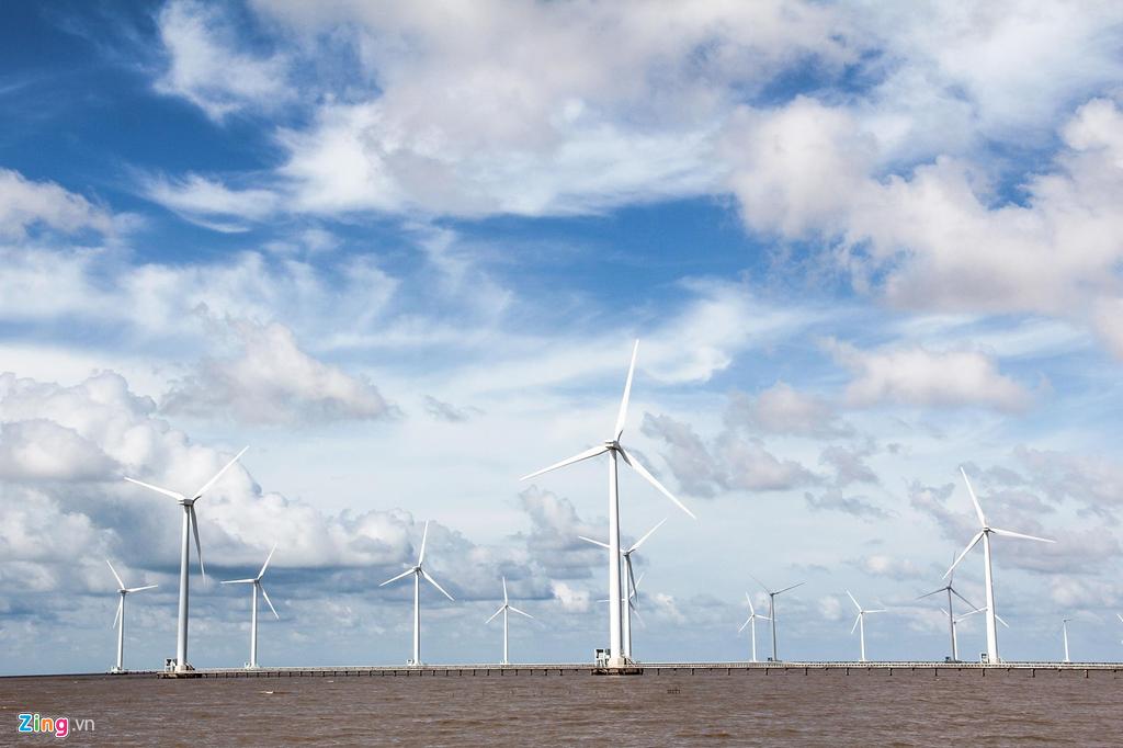 Tô Công Lý,điện gió miền Tây