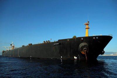 Tàu dầu Iran rời Gibraltar sau quyết định khiến Mỹ chưng hửng