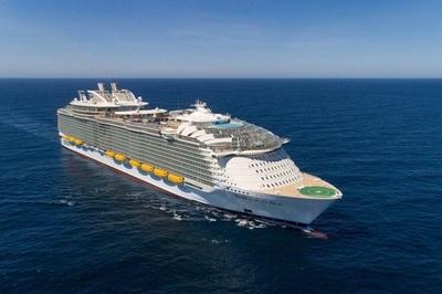 Bên trong tàu du lịch lớn nhất thế giới chẳng thiếu trò giải trí nào