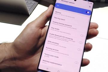Cách bật tùy chọn nhà phát triển trên Galaxy Note 10, Note 10+