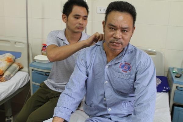 Bi kịch đau đớn của người đàn ông bị ung thư có 2 con bị chấn thương não