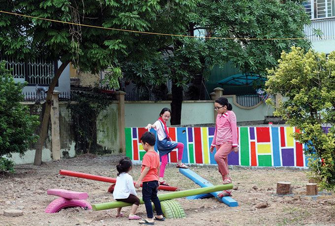 playgrounds for kids,vietnam children,vietnam kids,social news,english news,Vietnam news,vietnamnet news