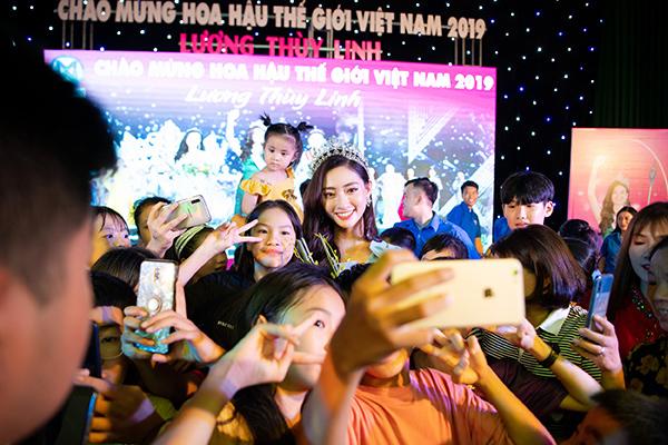 Lương Thuỳ Linh,Hoa hậu Thế giới Việt Nam