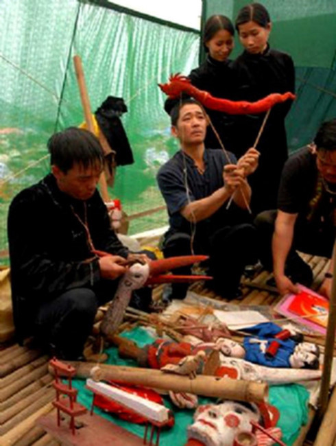 Stick puppetry of the Tay,Tay ethnic group,Tay people,Vietnam entertainment news,Vietnam culture,Vietnam tradition,vietnam news,Vietnam beauty