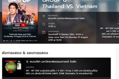 Thailand begins selling tickets to Vietnamese fans